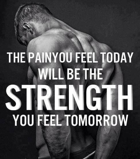 Gym Motivation Quotes Images: The Pain You Feel Today Will Be The Strength You Feel