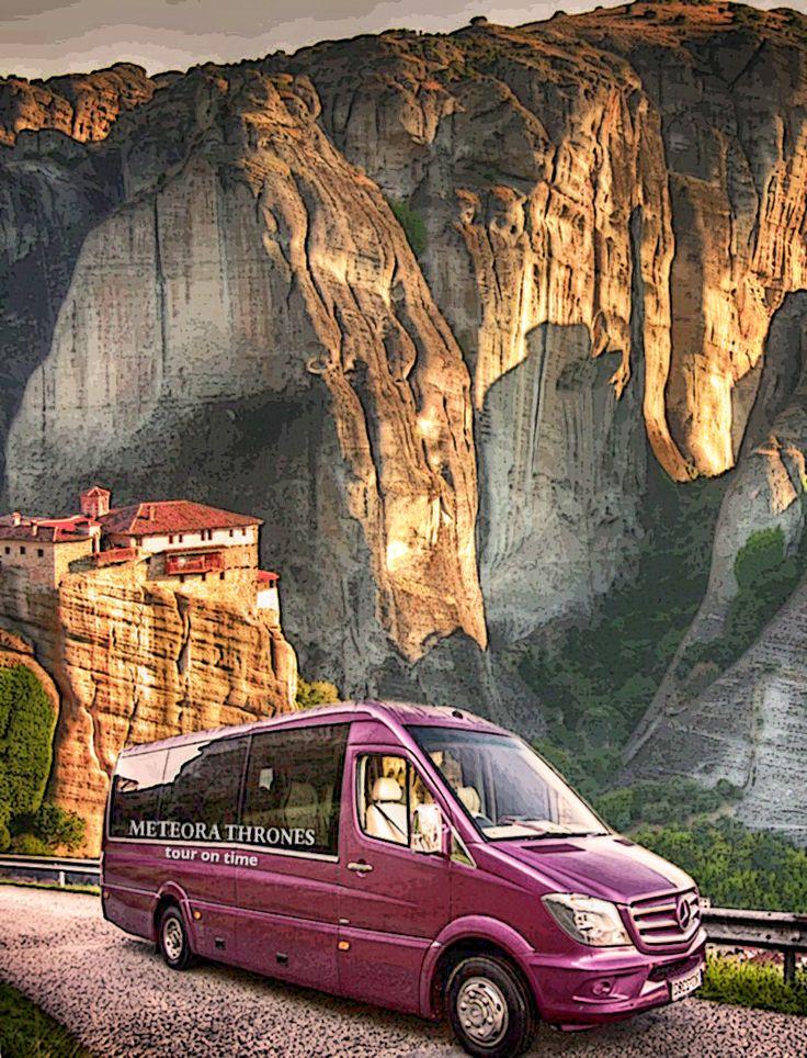 Meteora Thrones VIP luxury mini - bus