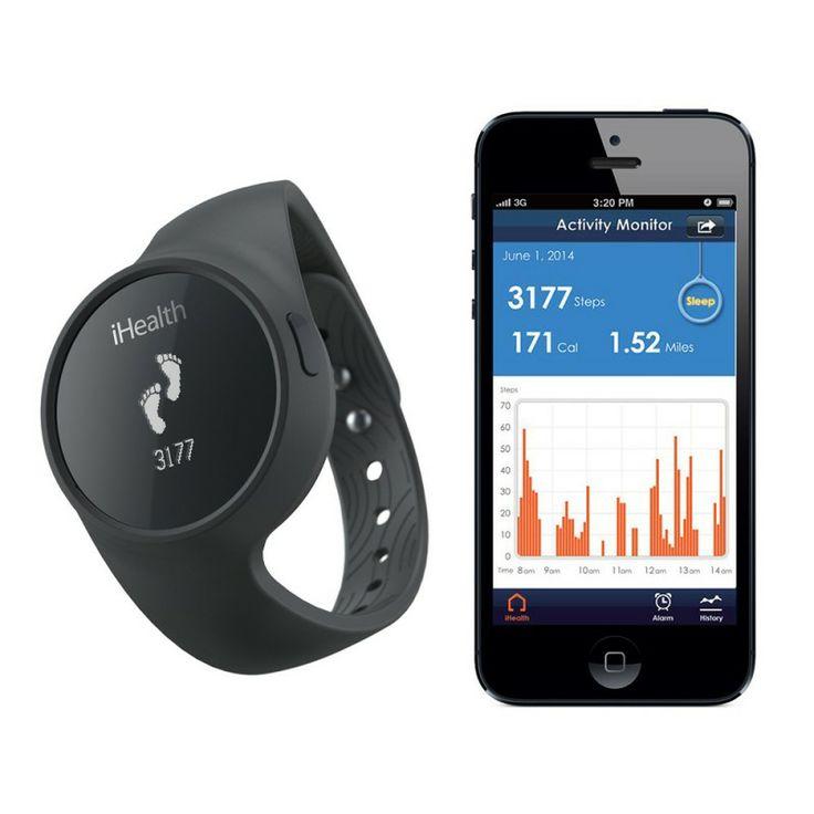 iHealth Activity Meter Watch - Zegarek do pomiaru Twojej aktywności fizycznej oraz snu. Do zegarka przygotowana została specjalna aplikacja, która określa takie parametry jak ilość wykonanych kroków, pokonany dystans czy ilość spalonych kalorii czy efektywność Twojego snu.