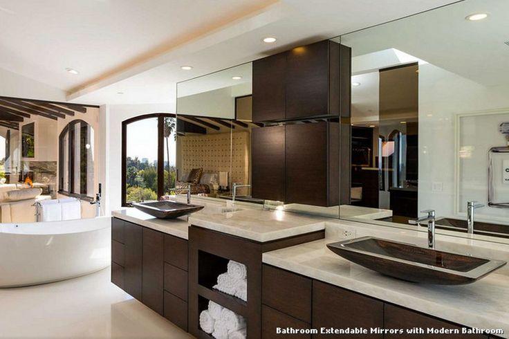 Bathroom Extendable Mirrors