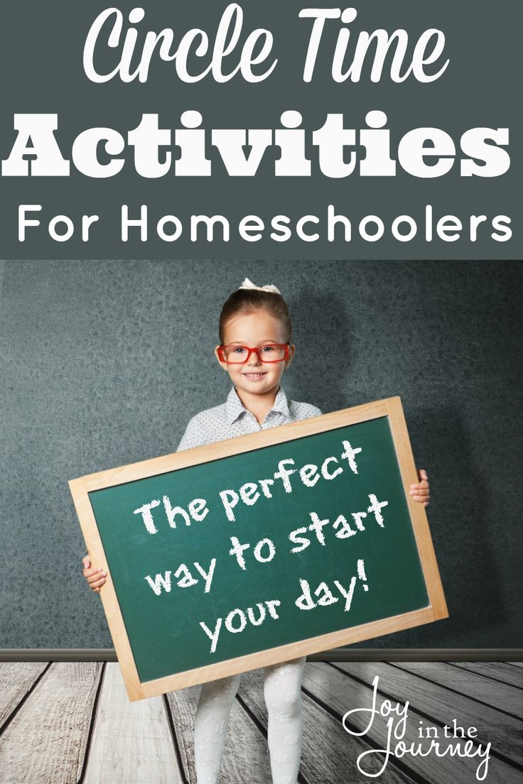 Circle Time For Homeschoolers