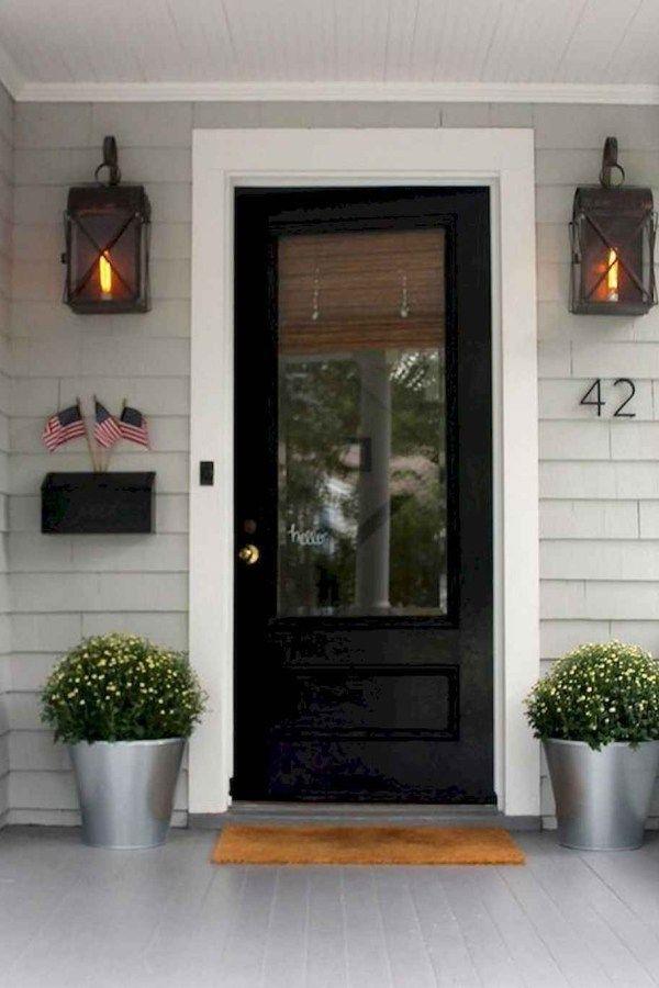 100 Unique Front Doors Colors Design Ideas 40 House Exterior Front Door Design Black Front Doors