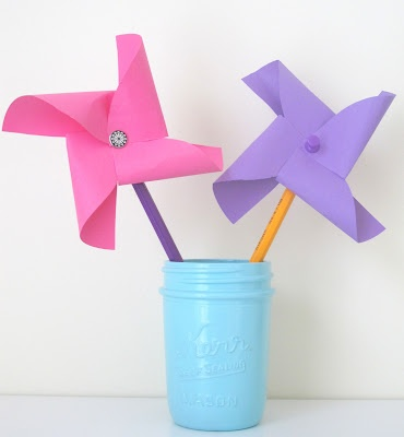 Love City: diy pinwheel