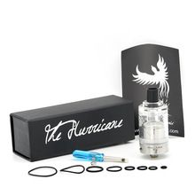 316 Stainless Steel Hurricane V2 RTA RDA Atomizer 2 5ml Rebuildable Dripping Tank Fit 510 Thread