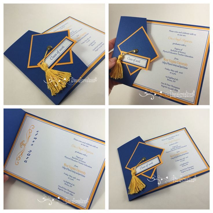 Handmade Graduation Invitations Graduation Invitations