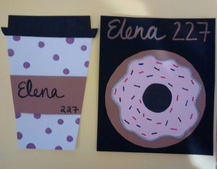 Thepenguinsledder Made Breakfast Themed Door Decs For My Floor Im So