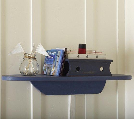 Beach Themed Living Room Decor Best Neutral Paint Colors For Sherwin Williams Boat Shelf | Pottery Barn Kids Baby Boy Nautical Nursery ...
