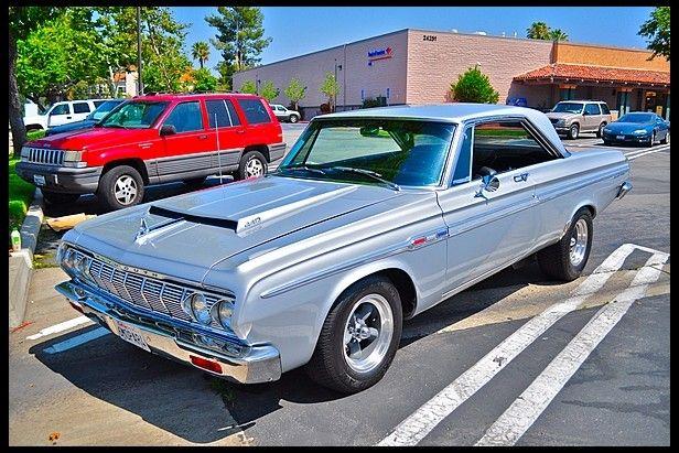 1964 Plymouth Sport Fury Two Door Hardtop Mopar muscle