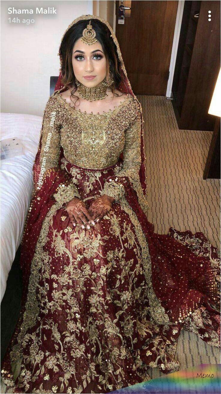 Pin by alisha on Pakistanische hochzeitskleider in 17  Bridal