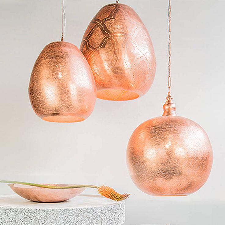 copper pendant light kitchen lights large uk dunelm