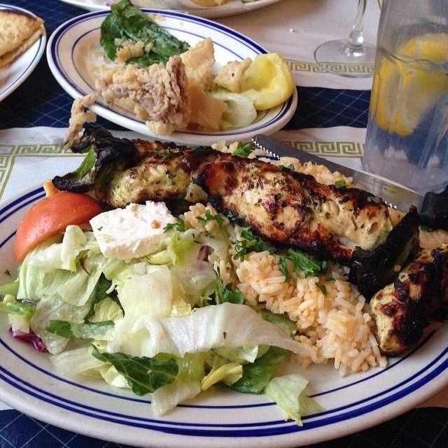 Check Out Greek Corner Restaurant in Cambridge, MA as seen on Diners, Drive-ins and Dives and featured on TVFoodMaps. Known for Spit-Roasted Lamb