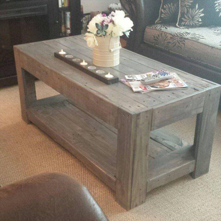DIY Wood #Pallet Coffee #Table | 101 Pallet Ideas