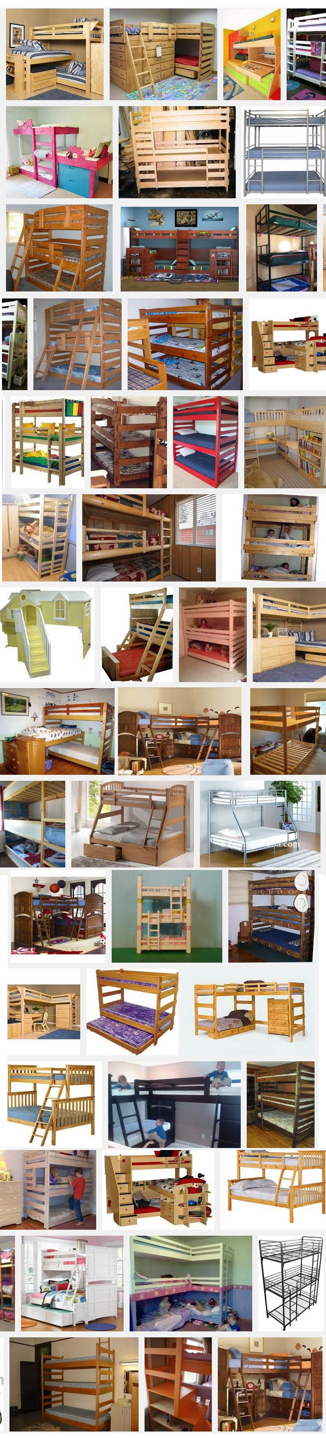 http://bunkbedplans247.com/wp-content/uploads/2013/02/Large-collection-of-triple-bunk-beds-with-plans.jpg