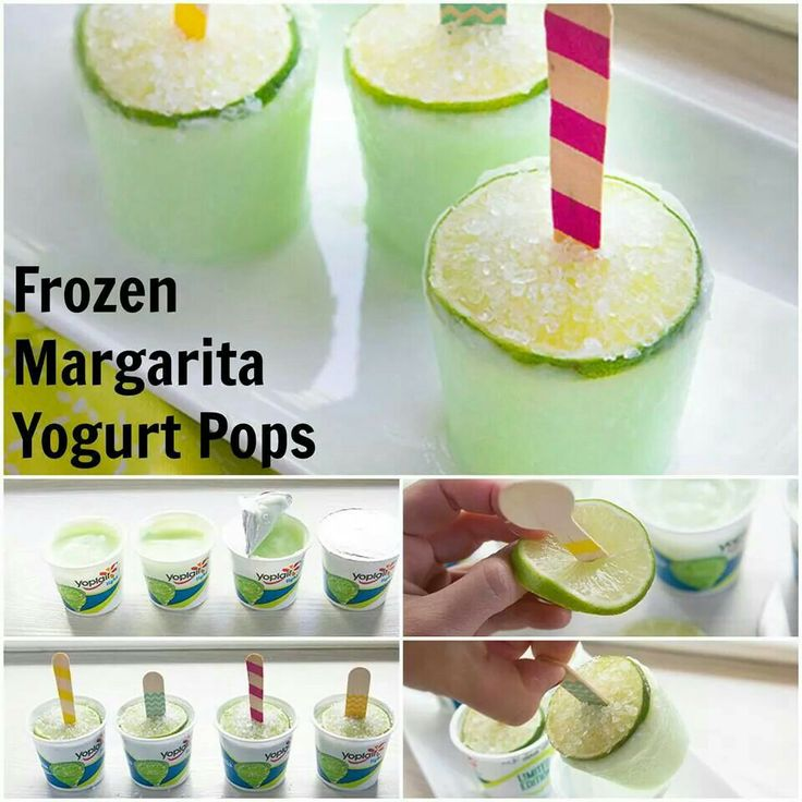 Margarita pops http://www.tablespoon.com/recipes/frozen-margarita ...