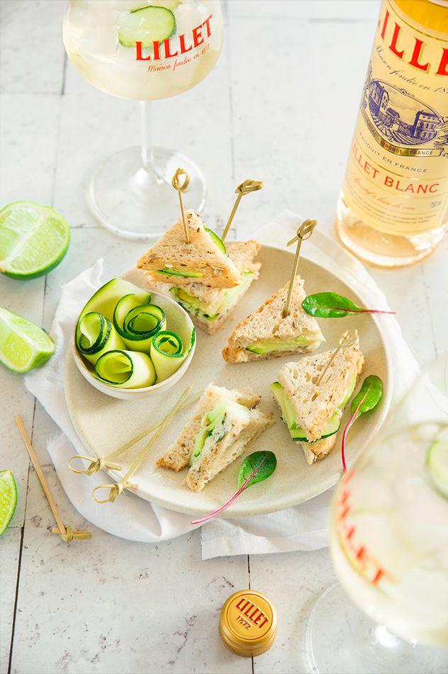 Baby club sandwich aux courgettes et au crabe. My Little Apero x Lillet © Sandrine Saadi