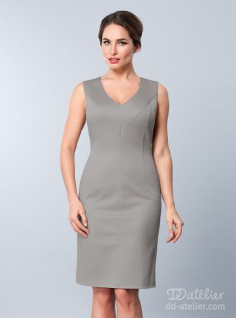Dress Affari In Grey For A Big Bust Would Wear With A
