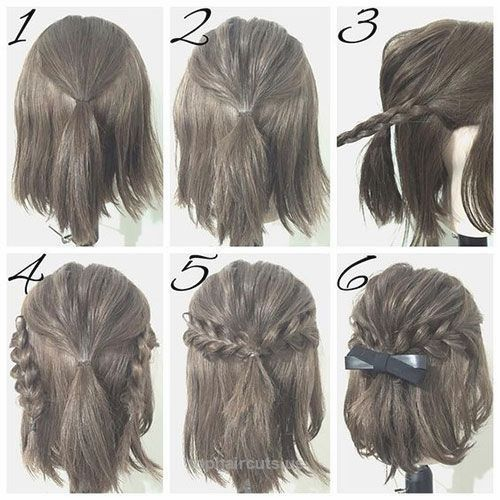 easy prom hairstyle tutorials for girls with short hair… easy prom hairstyle tutorials for girls with short hair http://www.tophaircuts.us/2017/06/08/easy-prom-hairstyle-tutorials-for-girls-with-short-hair/