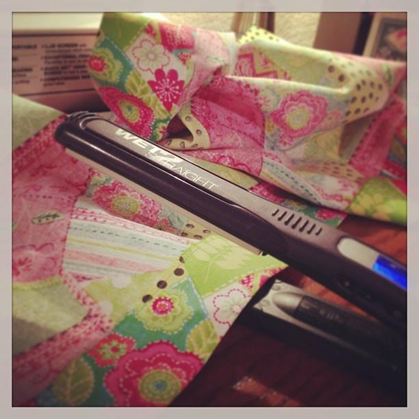 Use a hair straightener on hems and seams. https://sphotos-b.xx.fbcdn.net/hphotos-snc7/406069_3794232549111_76195631_n.jpg #sewing #crafts genius!