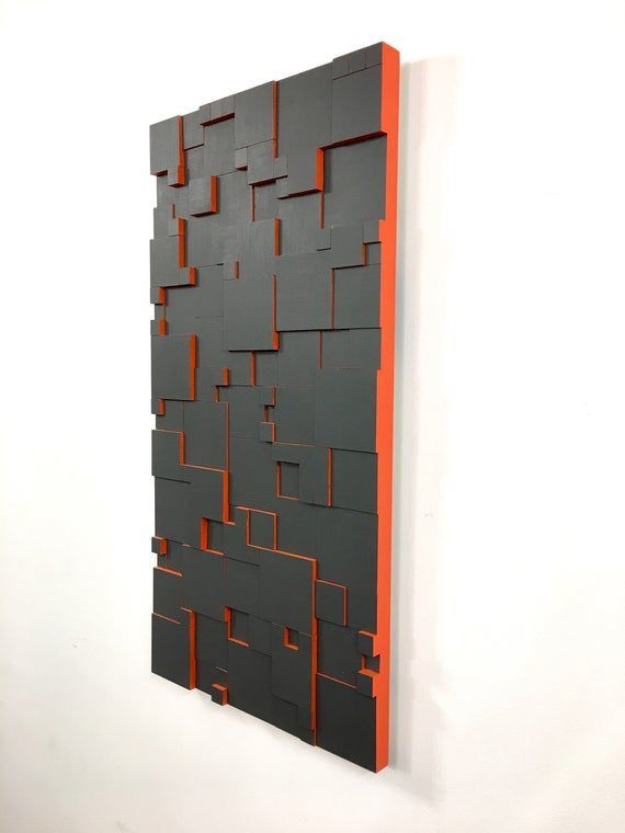 Skyler Holz Trifft Auf Metall Wandkunst Die Begeistert