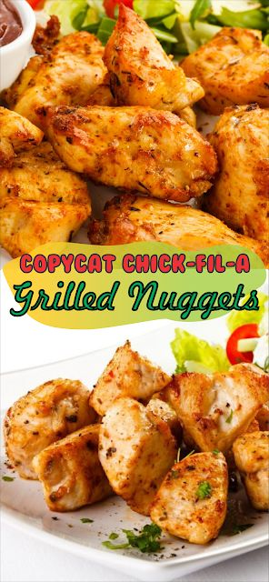 Copycat Chick-Fil-A Grilled Nuggets   Floats CO #c…