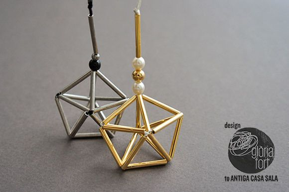 DIY Himmeli Ornament Tutorial