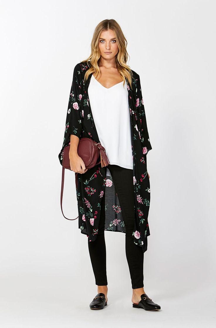 The best of what's new! Shop the Kimono Sleeve Throw in stores and online now www.decjuba.com.au @Decjuba