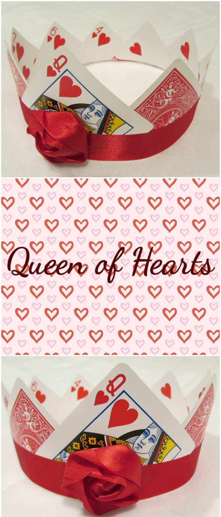 Queen of Hearts Crown created for Marissa Meyer's Heartless Mad Hatter Design Contest