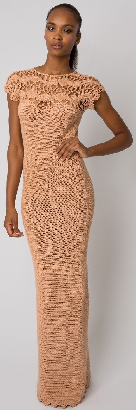 Meskita crochet dress resort wear..:
