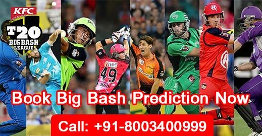 Big Bash League Astrology Prediction To Book Prediction, Call or Whatsapp: +91-8003400999