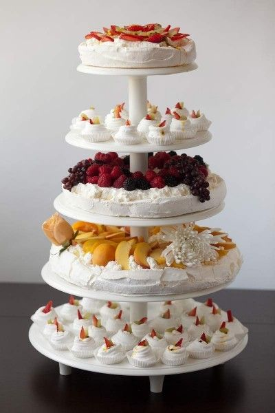 tiered wedding cake recipes tiered pavlova my has come true food addicts 20974