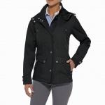 Ariat Burney Lightweight Waterproof Jacket in Black