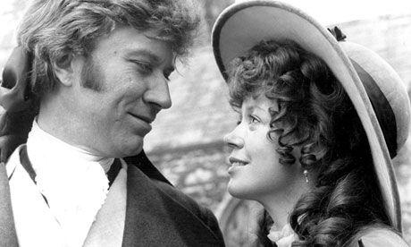 Poldark circa 1975 (Robin Ellis and Angharad Rees as Ross and Demelza Polark)