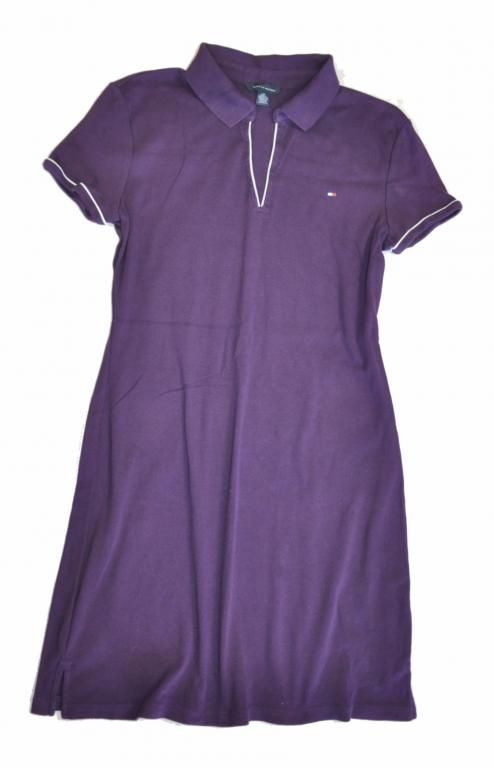 TOMMY HILFIGER sukienka dzianina tunika L / G 40