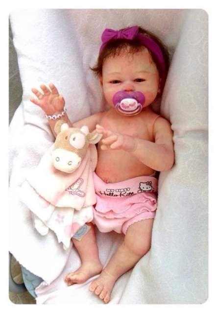 Realizzo bambole reborn con corpo siliconato