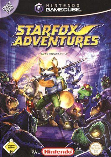 GameCube - Starfox Adventures (DE/EN) (mit OVP) (gebraucht) 20 € GameCube Spiele Action & Adventure