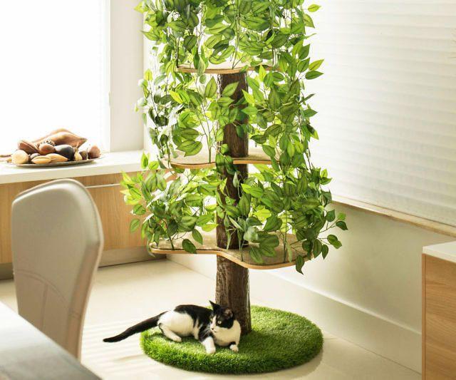 Indoor Cat Tree House Cat Condo Cat Tree House Cat Tree Cat Climbing Tree