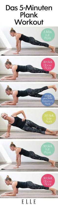 Planks: Diese Übungen definieren deinen Körper – Manuela Schulz