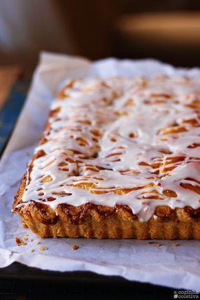 """Olá, tudo bem? Esqueça todas as receitas de torta de maçã que já postei aqui! Essa é """"A"""" torta de maçã, com """"a"""" maiúsculo mesmo. ..."""