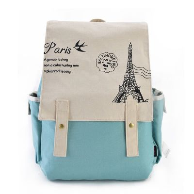 Ferris Wheel Pattern Mixed Colors Backpack