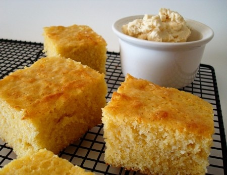 Had this for dinner tonight, and it really may be the best cornbread ever. Definitely making it again!