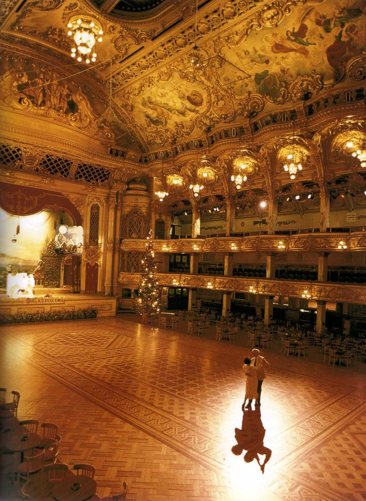 Tower Ballroom - Blackpool - Lancashire - England THE most beautiful ballroom in the world.