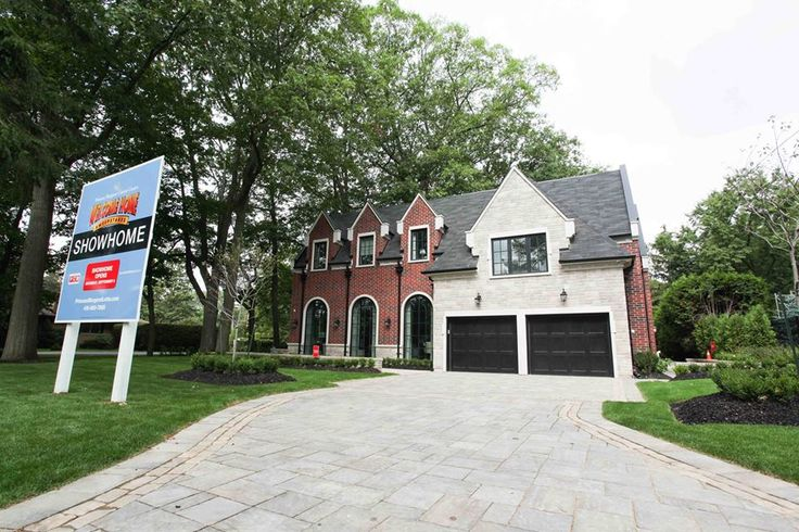 luxury home custom-built by Carlos Jardino and PCM Inc for the 2015 Princess Margaret Oakville Showhome