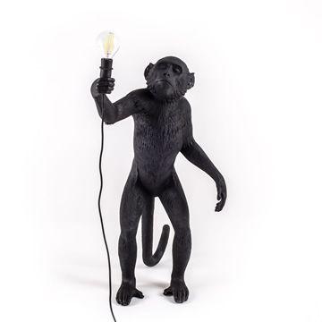 Seletti Monkey Lamp Standing-Black