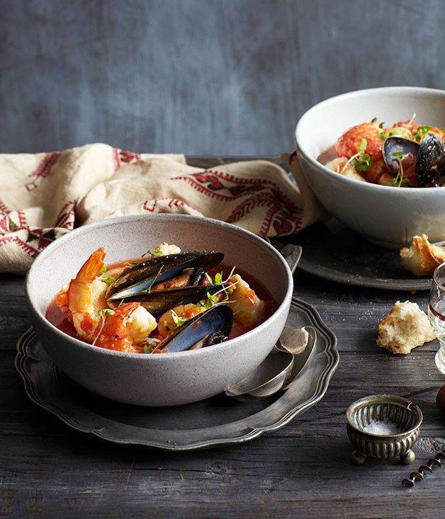 Zuppa di Pesce alla Romana...