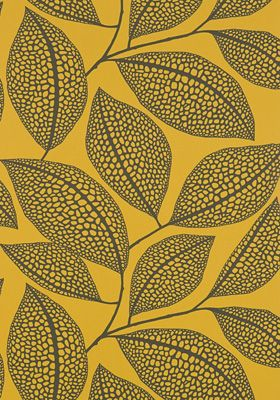 Pebble Leaf Wallpaper  by Missprint