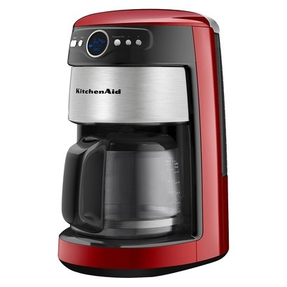 Red Coffee Maker At Target : KitchenAid 14-Cup coffee Maker-Empire Red-Wow she s beautiful! This will go perfect in my red ...