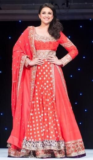 Parineeti Chopra walks the ramp for The Angeli Foundation in London