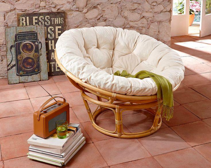 Der Beste Relax Sessel, Den Man Sich Vorstellen Kann: Auf Dem Papasansessel  Aus