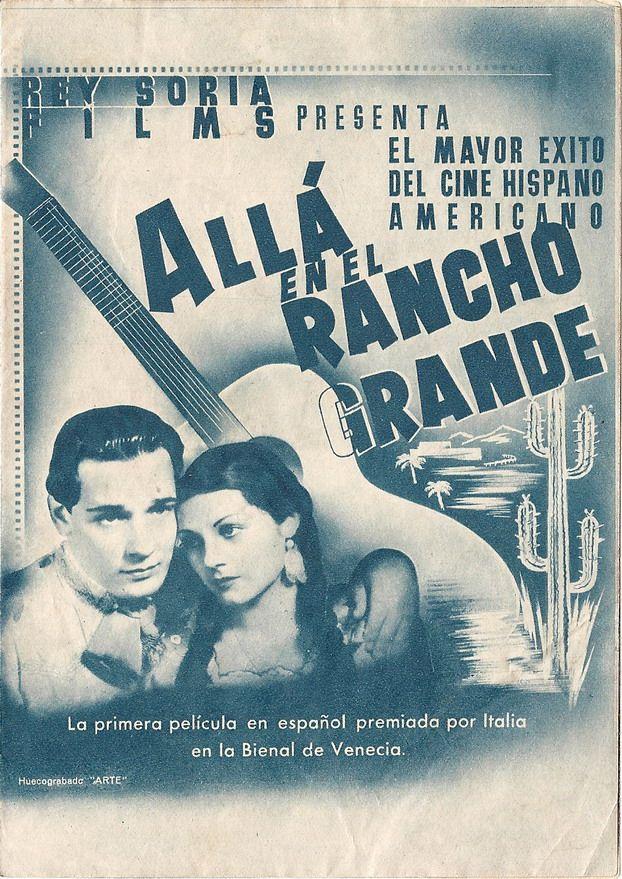 Allá en el Rancho Grande (1936) de Fernando de Fuentes - tt0027277