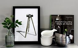 Tripod framed print   MON. Design Haus | COLLECTIONS